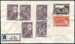 Malaya 1962 Mobile Post Office ALOR STAR MPO KEDAH Pmk Registered Cover Ambulant Bus TPO Automobil-Postbureau Kraftpost - Federation Of Malaya