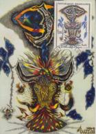 Carte  Maximum  1er  Jour   FRANCE   Tapisserie  De  LURCAT    SAINT  CERE    1966 - Cartes-Maximum