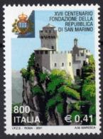 2001 ITALIE  N** 2506   MNH - 1946-.. République