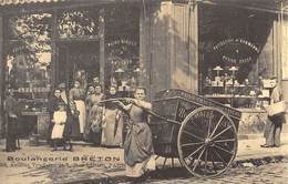 Paris - Boulangerie Breton 28 Avenue Trudaine Et 1 Rue Lallier - Cecodi N'712 - Francia