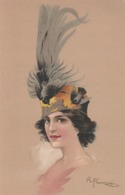 Cartolina - Postcard / Non Viaggiata - Unsent /  Donnina, Illustratore R. Franzoni. - Women