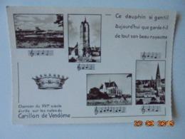Chanson Du XVIe Siecle Ecrite Sur Les Notes Du Carillon De Vendome. La Cigogne 4500002 PM 1956 - Vendome