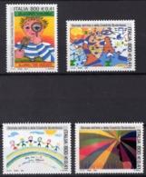 2001 ITALIE  N** 2498 A 2501  MNH - 1946-.. République