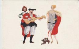 Cartolina - Postcard /  Viaggiata - Sent /  Donnina, Illustratore T. Sini - Mujeres