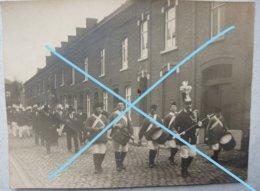 Photo HAM SUR HEURE Nalinnes Procession Fanfare 40's - Luoghi