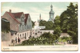 Apolda - Blick Vom Kaiser Friedrichsplatz A.d. Martins U. Luther-Kirche - Early Germany Postcard - Apolda