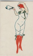 2 Cartoline - Postcard / Non  Viaggiate - Unsent /  Donnina . - Women