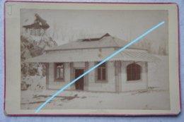 Photo AISEAU PRESLE Châtelet Oignies Publicité Construction Société Des Forges Bâtiments En Tôle Avant 1914 - Places