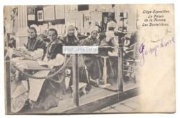Liege-Exposition - Les Dentellieres, Lace-makers, Le Palais De La Femme - 1905 Used Postcard - Liege