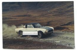 Fiat Abarth 124 Rally - Sports Car - C1970's Postcard - Passenger Cars