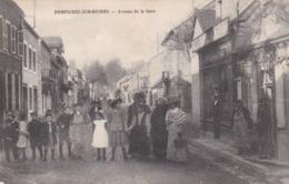 DOMPIERRE SUR BESBRE - ALLIER - (03)  - RARE CPA TRÈS ANIMÉE 1918. - France