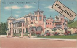 San Juan - Cpa / Casa De Espana En Puerto Rico. Circulé 1956. - Puerto Rico