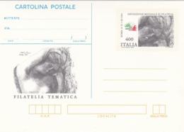 Italy CP 61 1985 Italia 85, Cartolina Postale,mint - 6. 1946-.. Republic