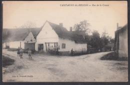 CPA 62 -  CAMPAGNE Lez HESDIN, Rue De La Creuse - Hesdin