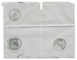 DA CARRARA A LIVORNO - 26.5.1864. - Modena