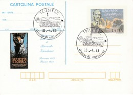 Italy CP53 Riccardo Zandonai Cartolina Postale,FDC - 6. 1946-.. Repubblica