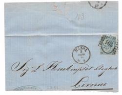 DA MASSA A LIVORNO - 5.8.1866.. - Modena