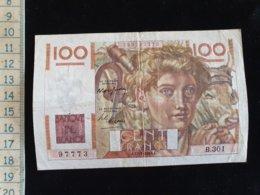 """Billet 100 Francs """"paysan""""  -1949 J - 1871-1952 Antichi Franchi Circolanti Nel XX Secolo"""