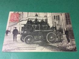 SAPEURS-POMPIERS De PARIS    Pompe à Vapeur Automobile - Sapeurs-Pompiers