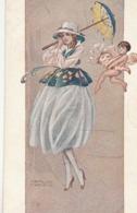 Cartolina - Postcard / Non  Viaggiata - Unsent /  Donnina, Illustratore C. Nicco - Vrouwen