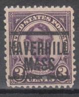 USA Precancel Vorausentwertung Preo, Locals Massachusetts, Haverhill 635-204 - United States