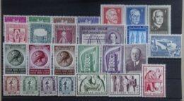 BELGIE  1956    Van Nr. 979  Tot 1004   Zie Foto   Licht Spoor Van Scharnier *    CW  96,00 - Belgique