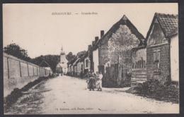 CPA 80 -  IGNAUCOURT, Grande Rue - Autres Communes