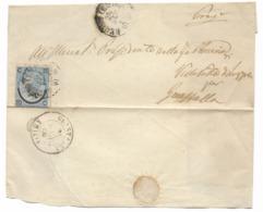 DA REGGIO EMILIA A GUASTALLA - 24.1.1866. - Modena