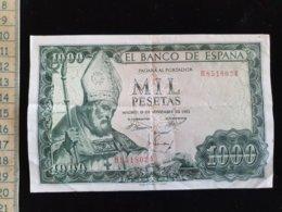 Billet 1000 Pesetas, Espagne, 1965 - [ 3] 1936-1975: Franco