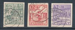 SBZ 87/89 B Gestempelt Gefälligkeitsentwertung (Mi. 150,-) - Zona Sovietica