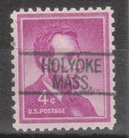 USA Precancel Vorausentwertung Preo, Locals Massachusetts, Holyoke 812 (d8) - United States