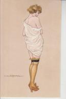 2 Cartoline - Postcard / Non  Viaggiate  - Unsent /  Donnina - Illustratore C. Calderara - Women