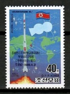 Korea North 1998 Corea / Space Satellite MNH Espacio Satélite / Cu13103  38-55 - Europa