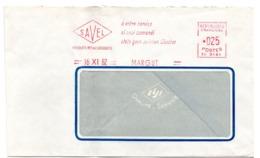 ARDENNES - Dépt N° 08 = MARGUT 1962 = EMA TEXTE =  SAVEL à Votre Service / Si Suoi Comandi - Postmark Collection (Covers)