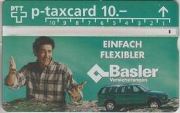SUISSE - PHONE CARD - TAXCARD-PRIVÉE ***  ASSURANCES - BASLER *** - Schweiz
