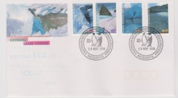 Australian Antarctic Territory 1996 Extreme Landforms, Davis Base Postmark,FDC - FDC