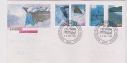 Australian Antarctic Territory 1996 Extreme Landforms, Macquarie Base Postmark,FDC - FDC