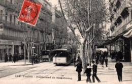 CPA - TOULON - BOULEVARD De STRASBOURG ... (Tramway) - Toulon