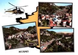 CPSM - MEOUNES - MULTIVUES - En Avion Au Dessus De … - Edition Lapie - Altri Comuni
