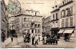 08 SEDAN - Vue De La Place D'harcourt (animation) - Sedan