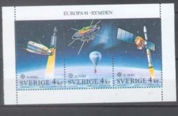 Sweden 1991; Europa Cept, Michel 1663-1665.** (MNH) - 1991