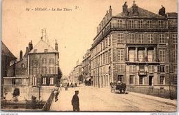 08 SEDAN - Vue De La Rue Thiers. - Sedan