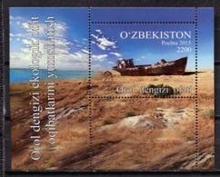 Uzbekistan 2015 / Ships MNH Barcos Schiffe Bateaux / Cu0330  29-23 - Barcos