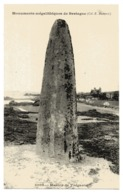 CPA     22     BRETAGNE           MENHIR DE TREGASTEL - Dolmen & Menhirs