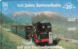 AUSTRIA - 100 Jahre Schneebergbahn (Train) , F149 , Tirage 1010, 04/97 - Oostenrijk