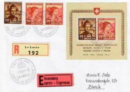 Copie-Fake-Falsch. Znr. 98 I + 99 I  MiNr. Bl6. - Pro Juventute