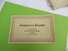 """Fascicule Promotionnel/""""JEUNESSE & BEAUTE""""/Les Miracles De La Méthode DUGAN Racontés Par Ses Adeptes/Vers 1930   PARF204 - Perfume & Beauty"""