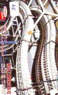 Télécarte - Parc D'attractions - Montagne Russe - ROLLER COASTER (68)– ACHTBAAN Pretpark - ACHTERBAHN Vergnügungspark - Jeux