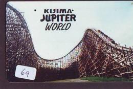 Télécarte - Parc D'attractions - Montagne Russe - ROLLER COASTER (69)– ACHTBAAN Pretpark - ACHTERBAHN Vergnügungspark - Jeux