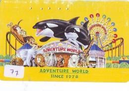 Télécarte - Parc D'attractions - Montagne Russe - ROLLER COASTER (77)– ACHTBAAN Pretpark - ACHTERBAHN Vergnügungspark - Jeux